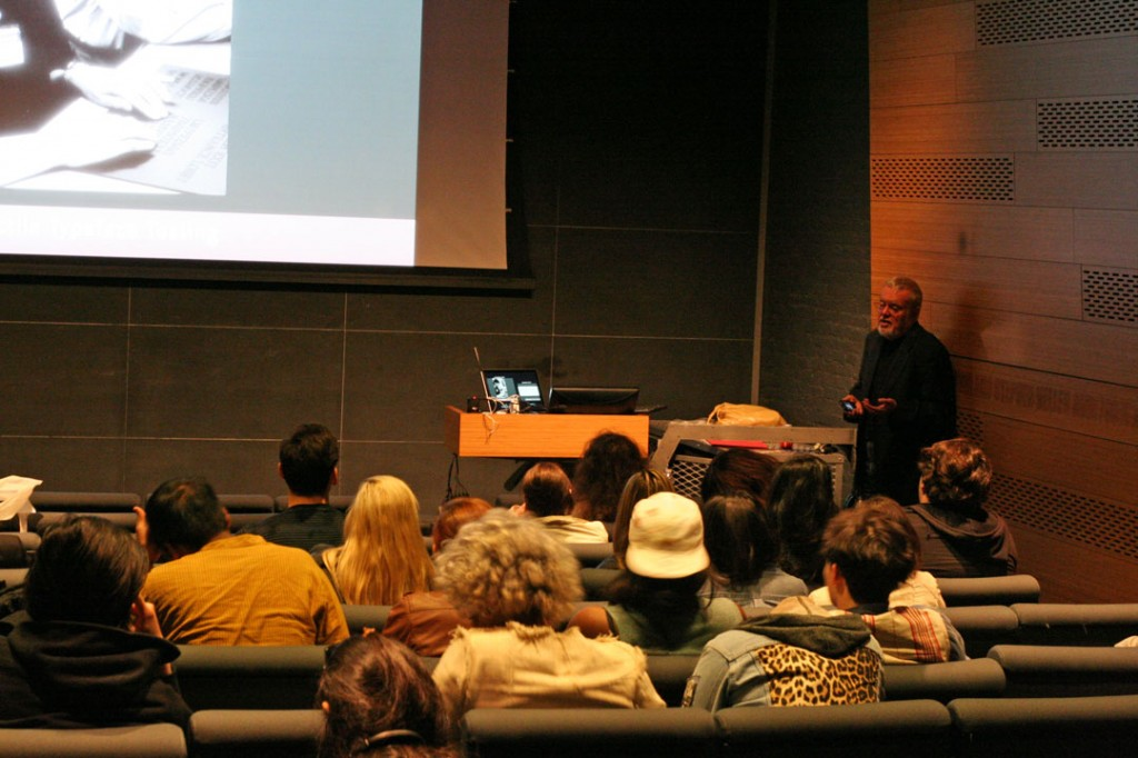 Roger Whitehouse Speaking at Parsons