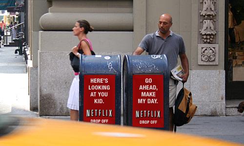 Netflix Drop Off