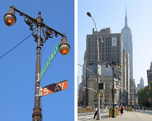 Fifth Avenue Light Post