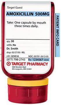 Target Pill Bottle
