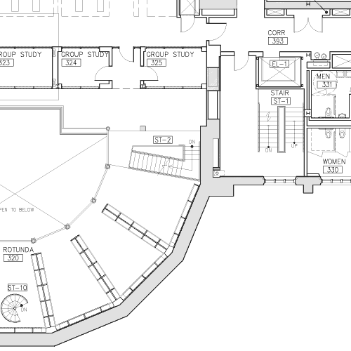 Floor plan with the correct information displayed